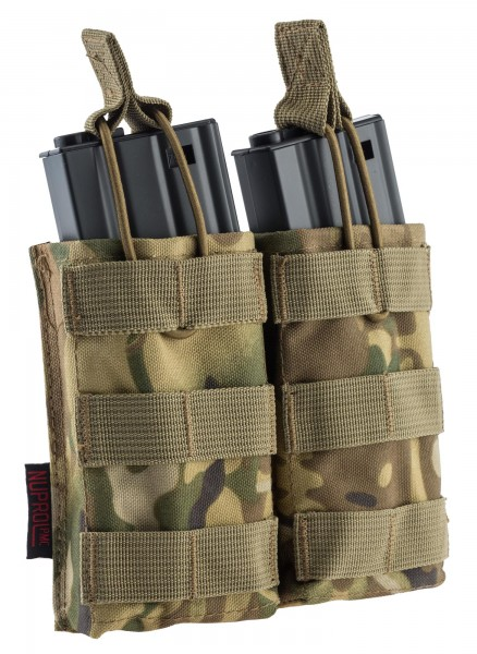 POUCH PMC DUAL CHARGER M4 CAMO