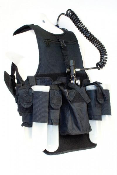 Pro Tactical Vest Schwarz