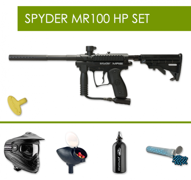 Spyder MR100 Action HP Pack