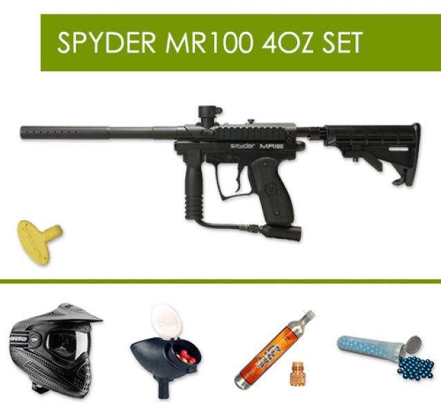 Spyder MR100 4oz Set