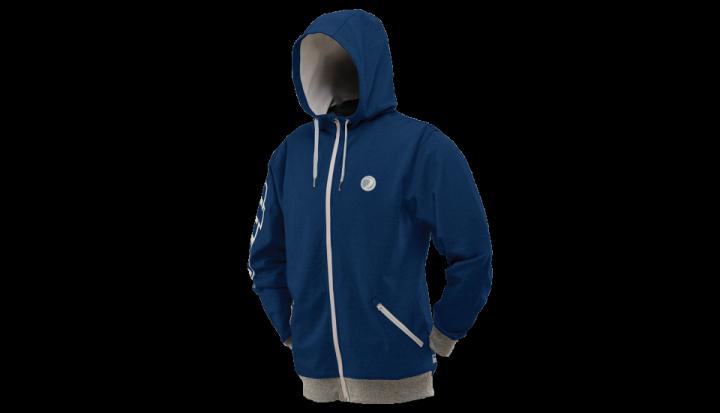 Dye Cornice Hoodie Blau XL