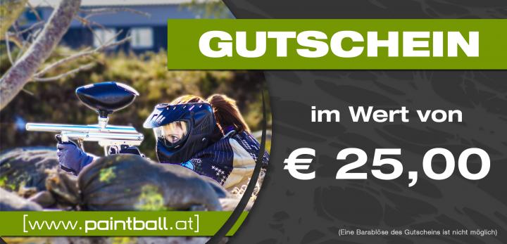 Shop Gutschein Euro 25,--