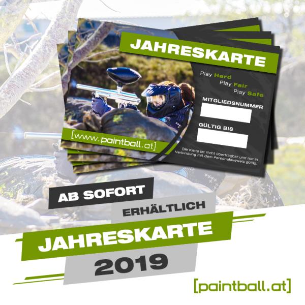 paintball.at Spielfeld Jahreskarte 2019