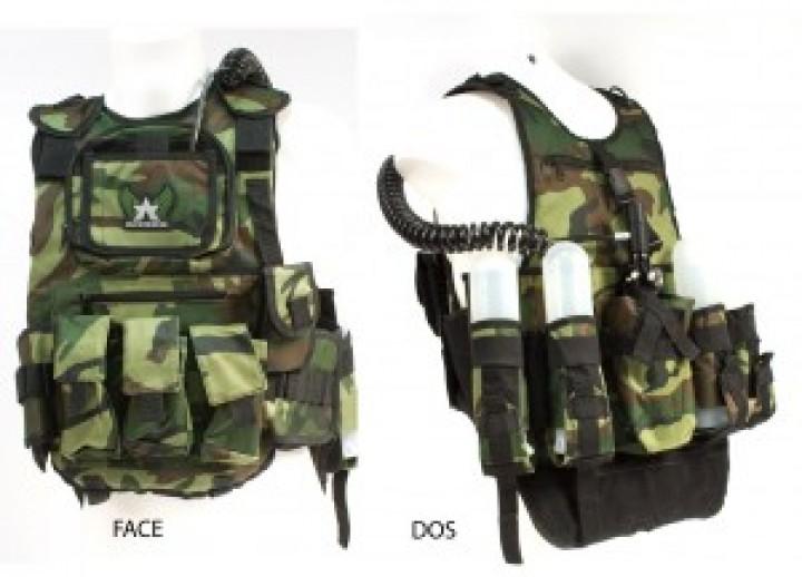 Pro Tactical Vest Camo